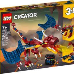 lego fire dragon