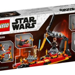 battle on mustafar lego set
