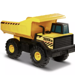 mighty dump truck by tonka