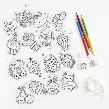 sweet treats shrinkies detail