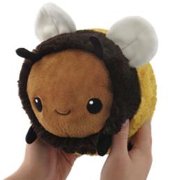 mini squishable bumblebee