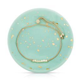 splash of good vibes bracelet dish set