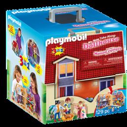 playmobil modern dollhouse