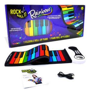 rainbow keyboard for kids