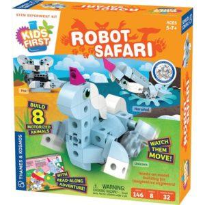 robot safari first robotics kit for kids