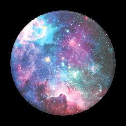 blue nebula pop socket