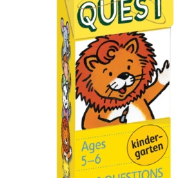 brain quest kindergarten cards
