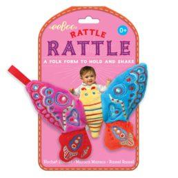 eeboo butterfly rattle