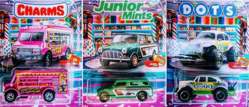candy matchbox cars