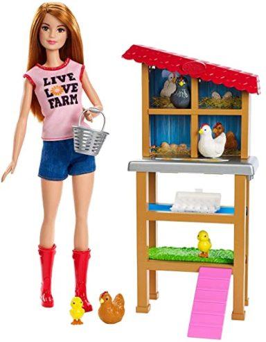 chicken farmer barbie