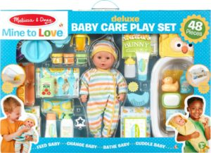 deluxe baby doll care set