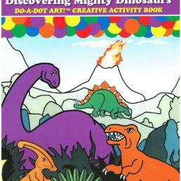 dinosaur do a dot painting book