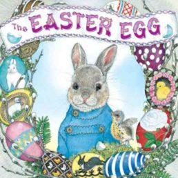 easter egg book by jan brett