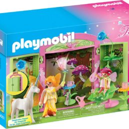 playmobil fairy play box