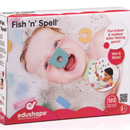 fish n spell bath toy