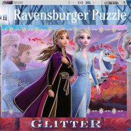 frozen glitter puzzle