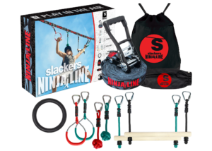 American Ninja Warrior course for kids