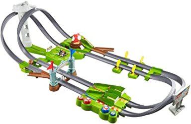 hot wheels mario kart track