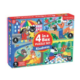 4 in a box kindness puzzles
