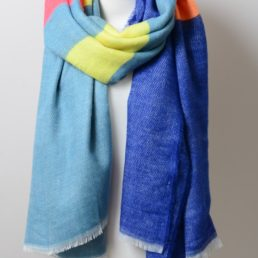 colorblock scarf