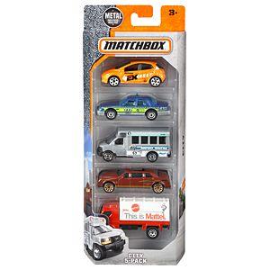 matchbox 5 pack