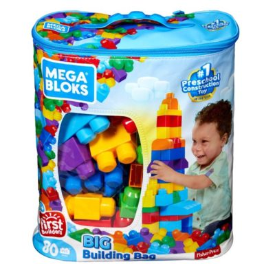 mega blox building bag