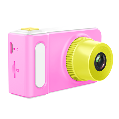my first camera in pink