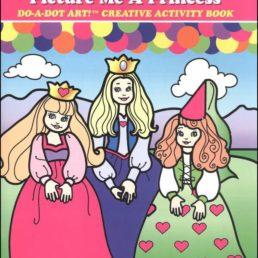 picture me a princess do a dot art book