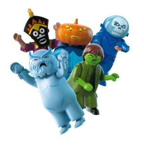 playmobil blind bags scooby doo series