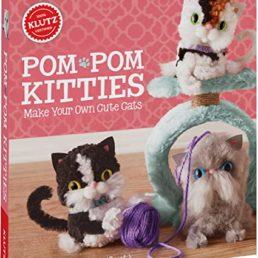 pom pom kitties from klutz