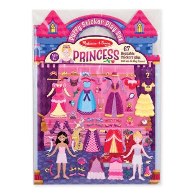 princess puffy stickers