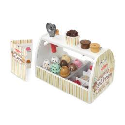 ice cream counter toy