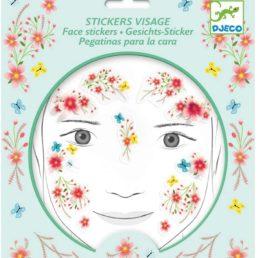 springtime fairy face stickers