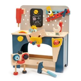 table top tool bench by tender leaf toys