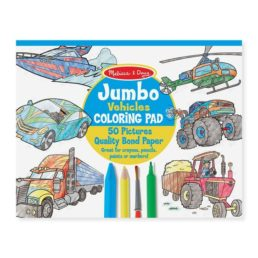 vehicle coloring pad
