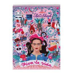 viva la vida sketchbook