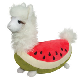 watermelon llama macaroon