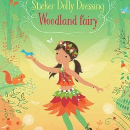 Woodland fairy sticker book