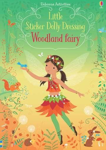 Woodland fairy sticker book